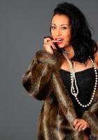 Collins coat Danica fur