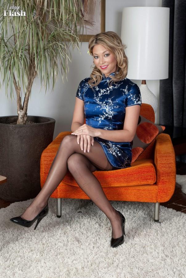 Natalia forrest silky oriental temptress - 2 part 5